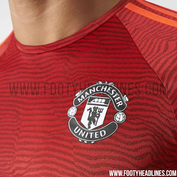 the best attitude b932c c2dd8 Adidas Manchester United 15-16 Champions League Training ...