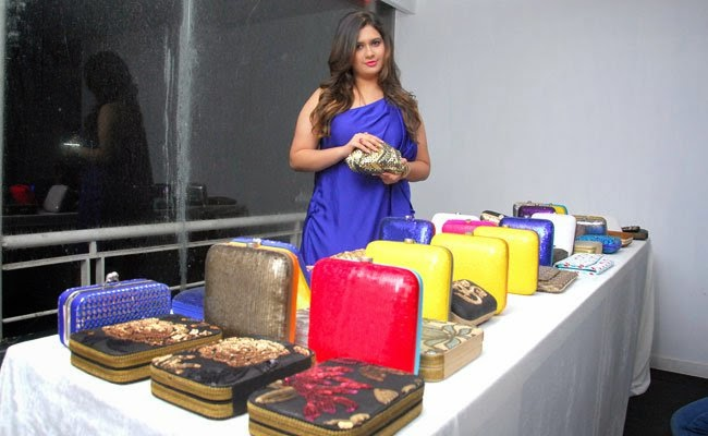Actress Mugdha Godse unveils Manali Jagtap's Bag Collection 'Clutch Closet'