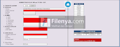 (File Kelas V 1.0) Aplikasi Administrasi Wali Kelas