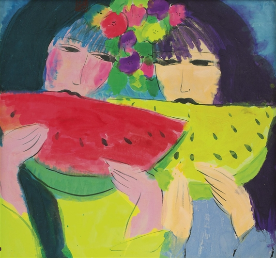 Exposition Art Blog Walasse Ting