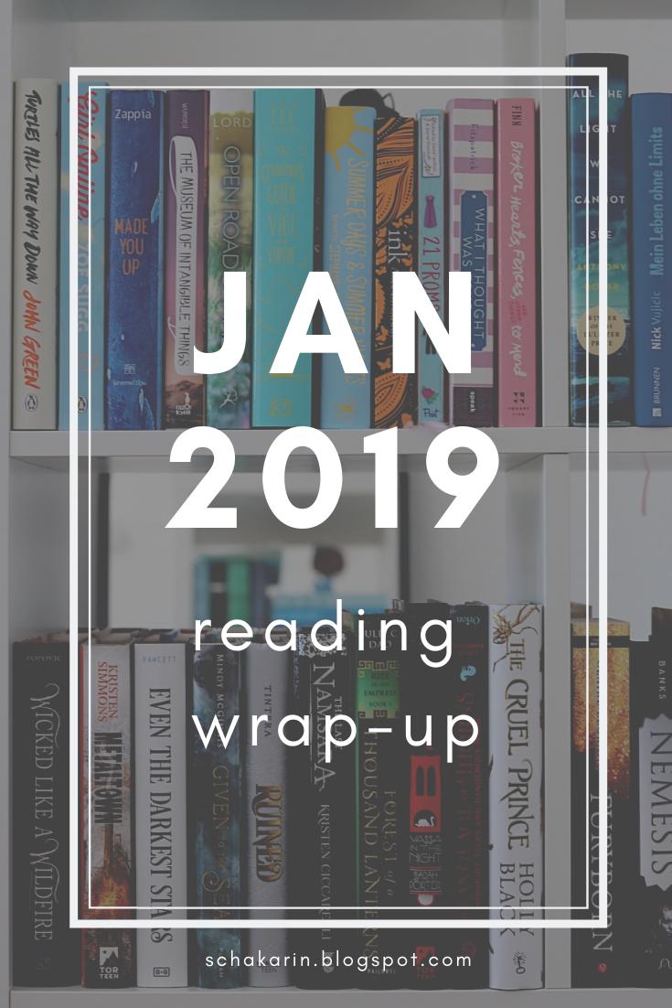 schakarin's January 2019 Reading Wrap-Up