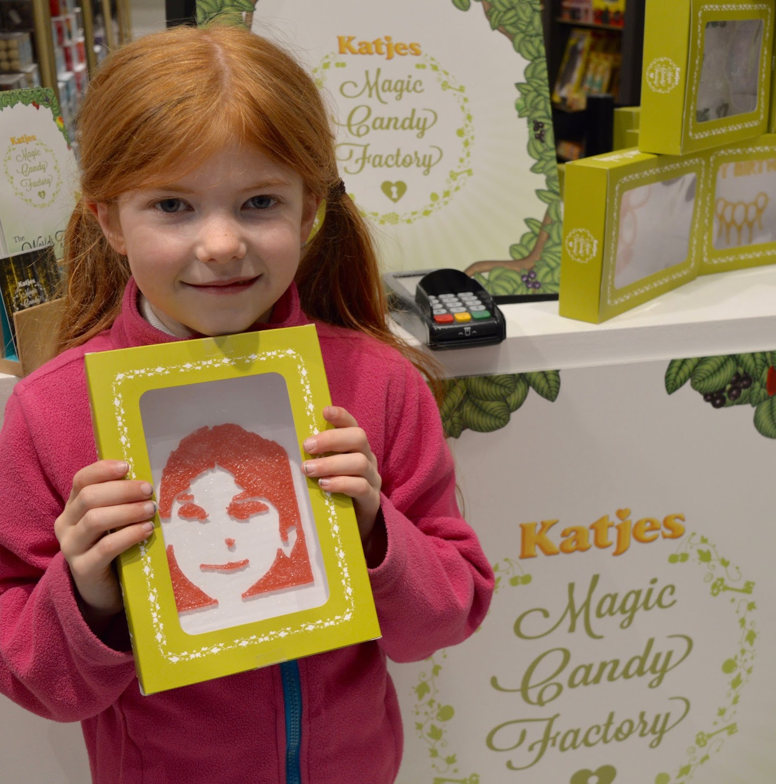 Create Magic Sweet Selfies with Katjes Magic Candy Factory at Fenwick Newcastle this Easter - final sweet selfie
