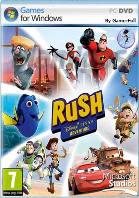 Rush A Disney Pixar Adventure PC [Full] Español [MEGA]