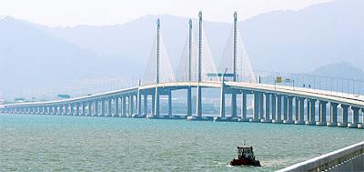 Second and new Penang Bridge