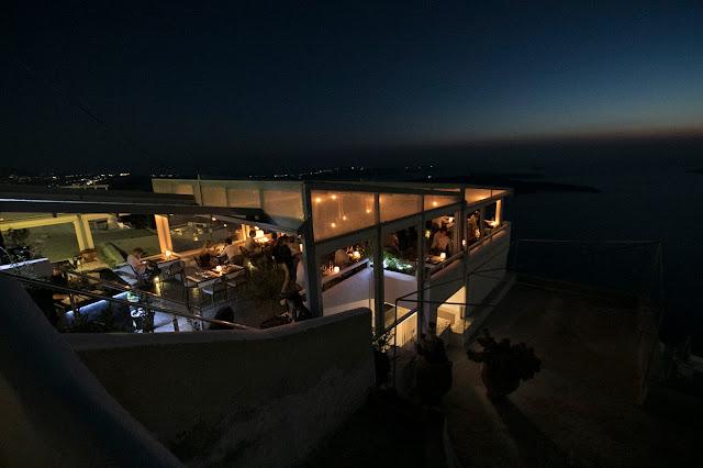Imerovigli di notte-Santorini