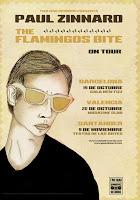 Paul Zinnar y The Flamingos Bite on tour