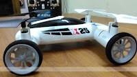 SongYang X25-1 Flying Quadcopter Car Top View