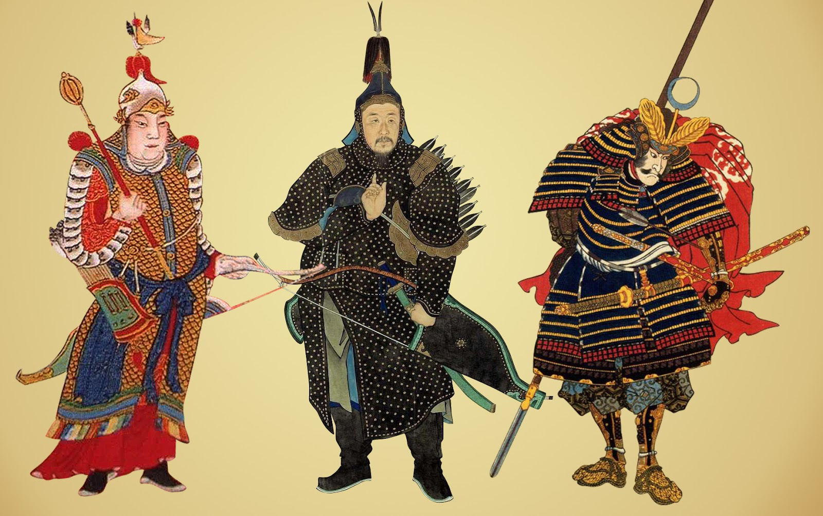 Ming, Qing and Japanese armour components: A brief ...