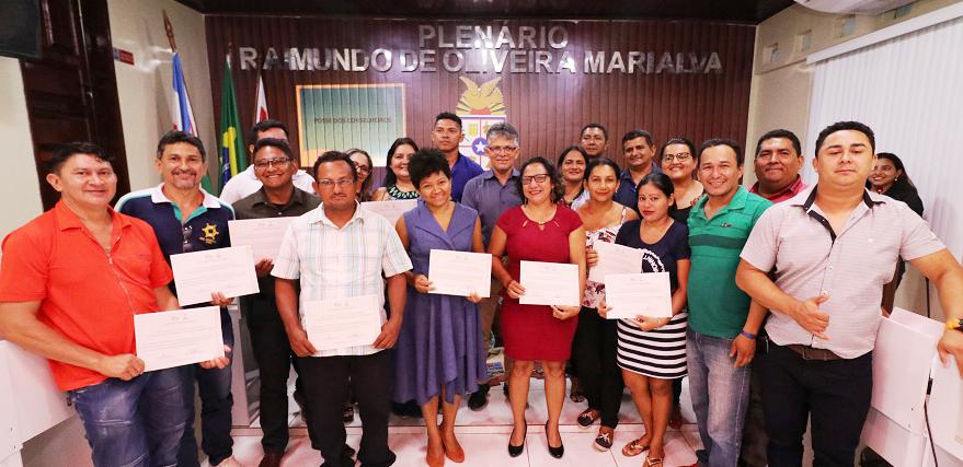 Prefeito dá posse aos novos membros do Conselho Municipal de Turismo de Juruti