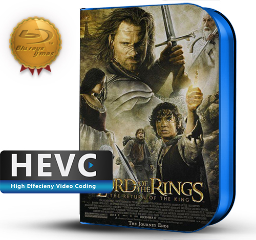 The Lord of the Rings: The Return of the King Extended (2003) 1080P HEVC-8Bits BDRip Latino/Ingles(Subt.Esp)(Aventura, Fantasía)