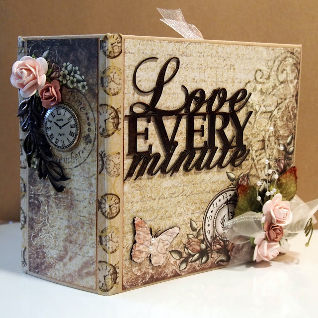 Handmade Scrapbook Cover : Imaginarium designs beautiful mini album