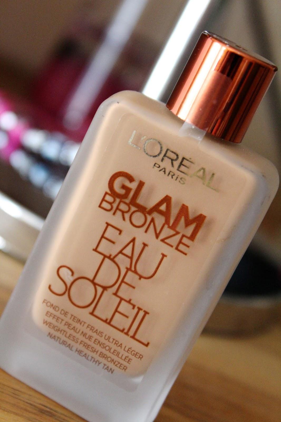 L'oreal Paris Glam Bronze Eau De Soleil (tekući bronzer)