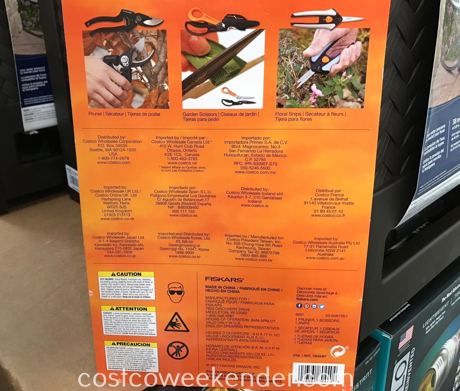 Costco 1500087 - Fiskars 3-piece Pruning Set: great for any home gardener