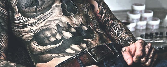 Stomach Tattoo, Stomach Tattoo For Men