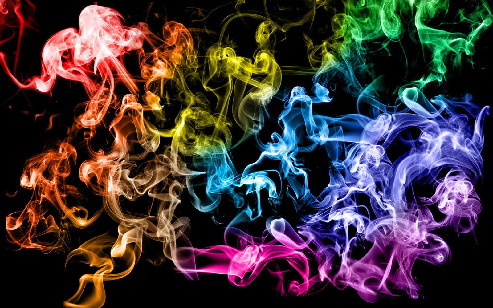 Art Pictures: Colorful Smoke Wallpapers