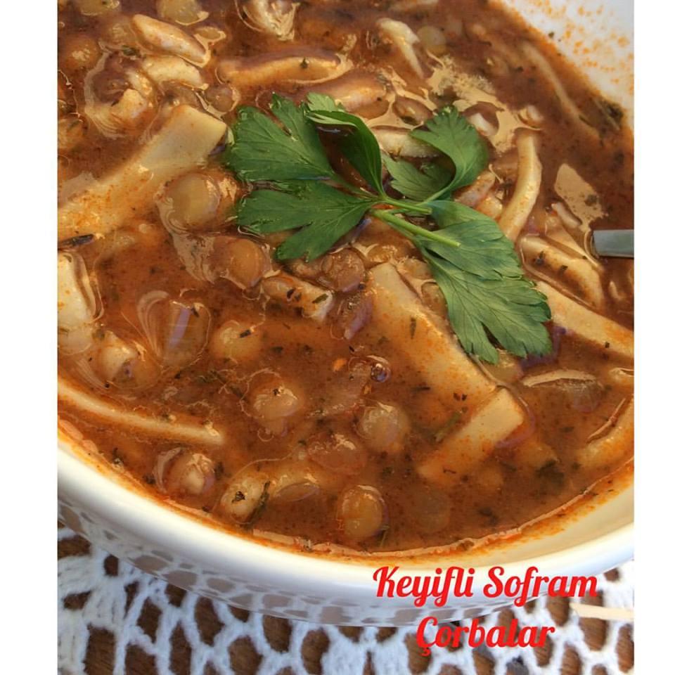 Iftar Yemekleri – Erişteli Mercimek Çorbası