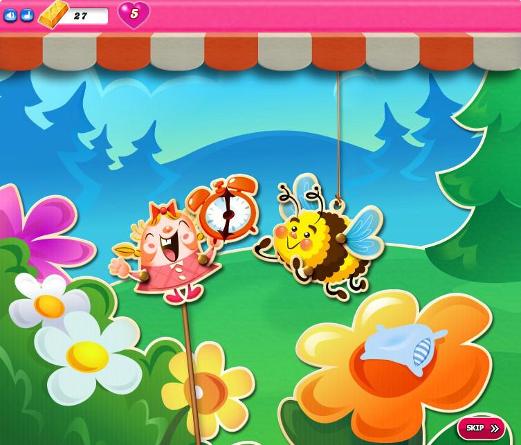 Candy Crush Saga level 2481-2495