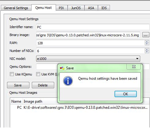 GNS3 Labs | CCNP | CCNA Labs: How to add Qemu host in Gns3 ...