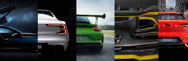 Pininfarina, Polestar1, MvcLaren Senna, Porsche 911 GT3, Jaguar I-Pace Concept  -Preview auf Gims 18