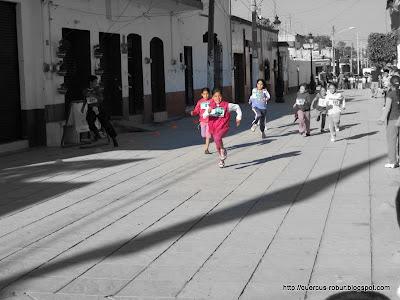 Mini olimpiadas en Santa Cruz de las Flores