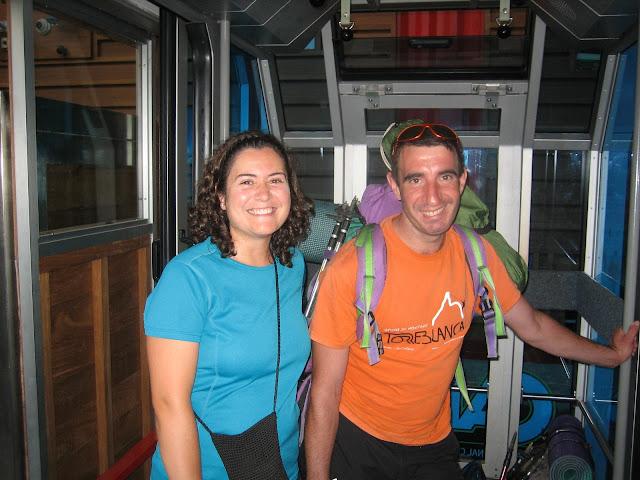 Rutas Montaña Asturias: Subiendo en teleférico a la Estación Superior