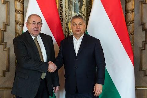 Továbbra is a nemzetépítés a legfőbb közös cél! A Vajdasági Magyar Szövetség elnökével találkozott Orbán Viktor