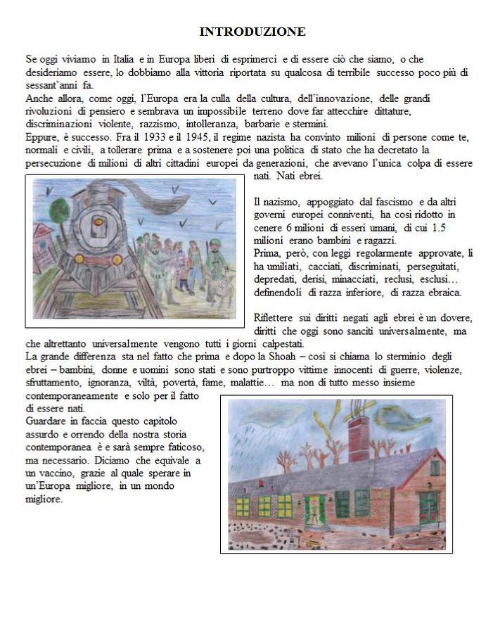 Progetto educazione tesina terza media l 39 odio razziale for Esame di italiano per carta di soggiorno esempi