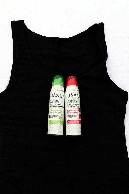 JĀSÖN Dry Spray Deodorants ~ #Review #Giveaway