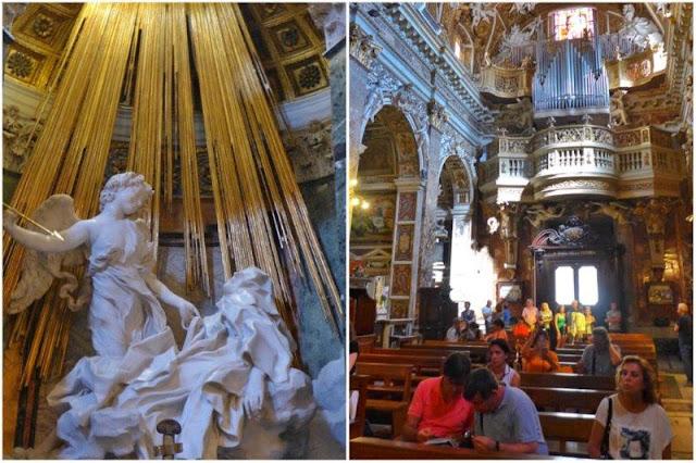 Éxtasis de Santa Teresa de Bernini – Santa Maria della Vittoria en Roma