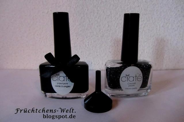 Ciaté Caviar Manicure BLACK PEARLS - Der Inhalt