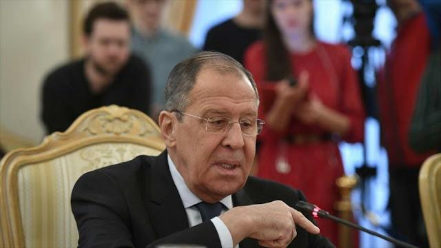 Lavrov a Pompeo: A Diplomacia de EEUU no le queda sino ultimátums