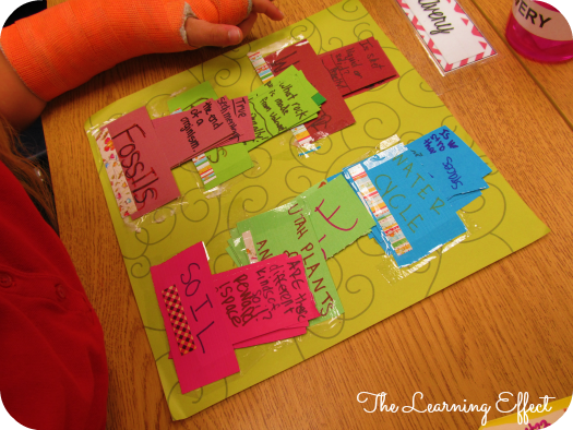 Science Curriculum Review Board Games (Student Created