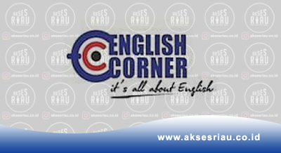 Lowongan English Corner Pekanbaru Januari 2018