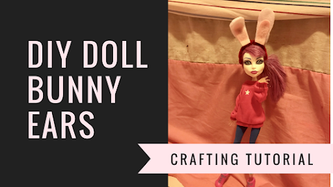 How to Make DIY Doll Bunny Ears Headband Crafting Tutorial