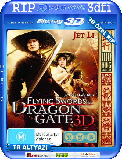 Flying Swords Of Dragon Gate 2011 Hindi Dual Audio BRRip 480p 350mb
