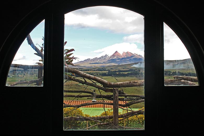 vista desde la Casa Hobbit