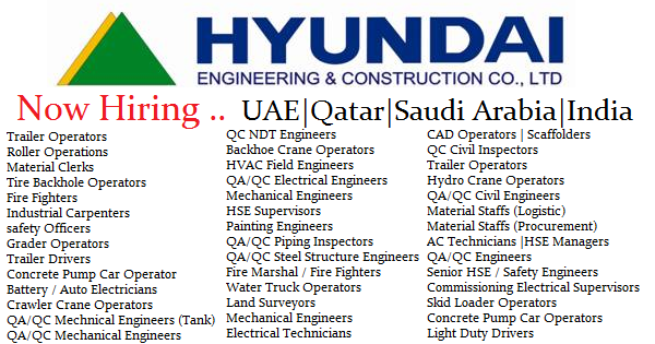 Hyundai Engineering & Construction Co  Ltd Job Openings