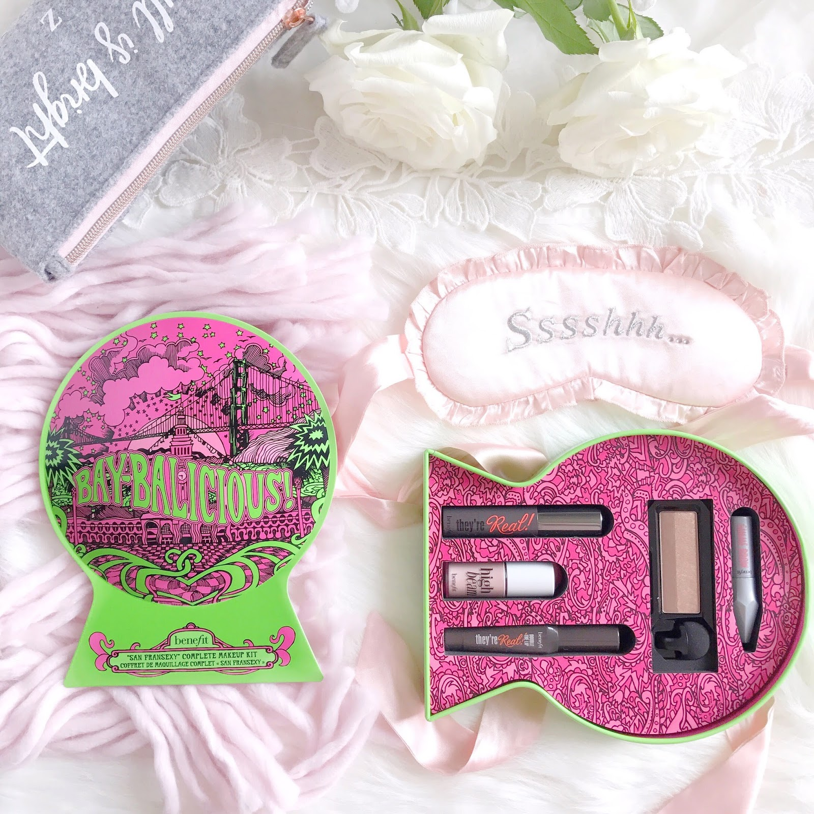 Benefit Cosmetics Christmas Gifting | BAYbalicious Makeup Gift Set