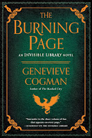 The Burning Page by Genevieve Cogman