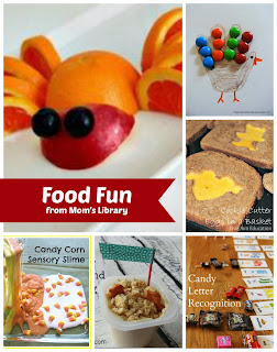Food Fun at Mom's Library