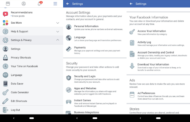 Cara Menghapus Akun Facebook Anda di Android,Ini Canya 6