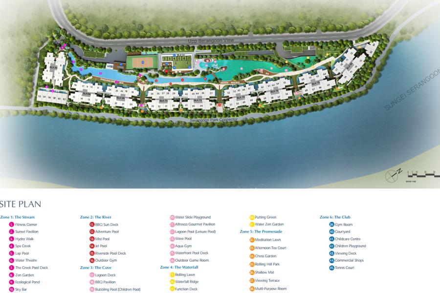 kingsford waterbay site plan
