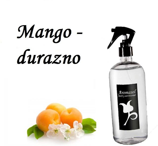 Perfume para la ropa mango-durazno