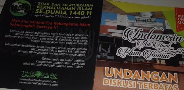 Polisi Tak Izinkan Acara Syiar Khilafah Islam Se-Dunia Digelar