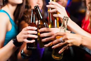 Berhenti minum - Resolusi Tahun Baru
