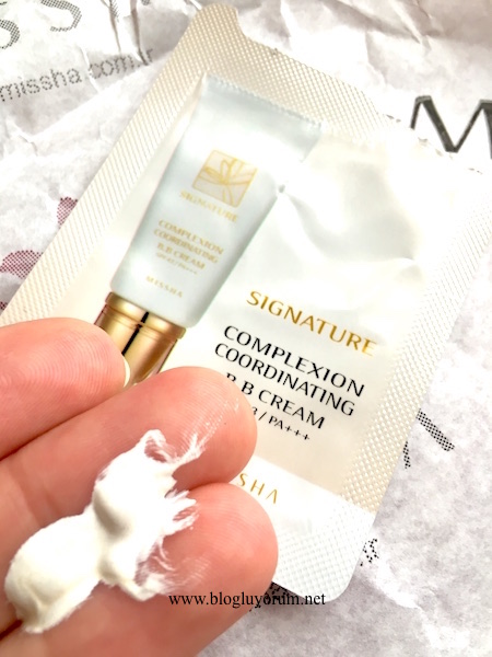 Missha Signature Complexion Coordinating BB Cream white