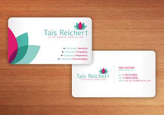 Cartão de visita personalizado 3