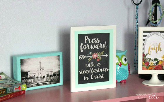 easy decor picture frame makeover