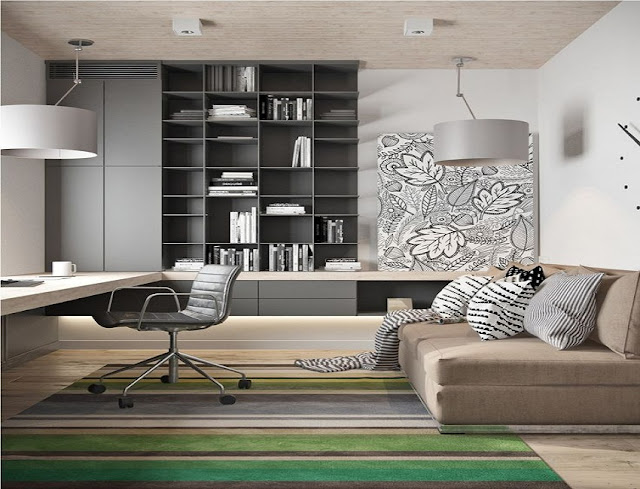 best buy modern home office furniture with murphy bed sets for sale online