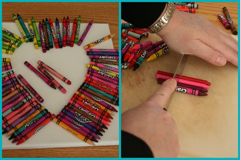 Start By Drawing Tracing A Heart As Big You Want Onto Your Canvas See The TIP Below Lay Crayons Out To Give Sort Of An Idea And